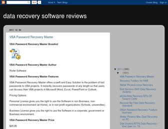 data-recovery-softwarereviews.blogspot.com screenshot