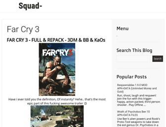 squad-blogger.blogspot.com screenshot