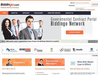 Thumbshot of Biddingo.com