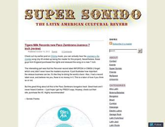 supersonido.net screenshot