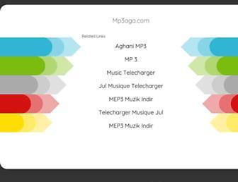 mp3aga.com screenshot