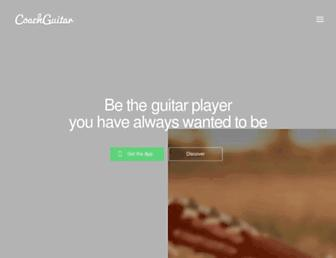 coachguitar.com screenshot