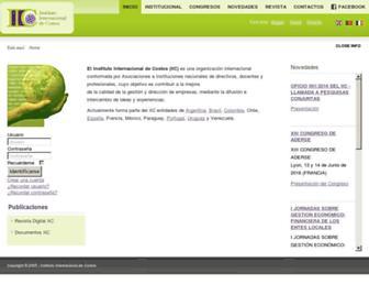 intercostos.org screenshot
