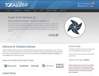 totalidea.com screenshot