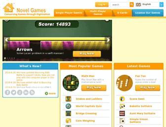 novelgames.com screenshot