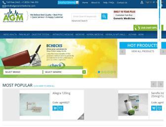 Thumbshot of Allgenericmedicine.com