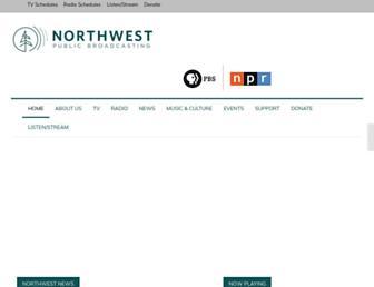 nwpb.org screenshot