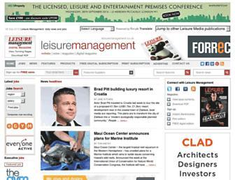 leisuremanagement.co.uk screenshot