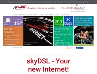 Thumbshot of Skydsl.eu