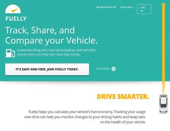 fuelly.com screenshot