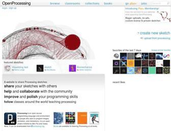openprocessing.org screenshot