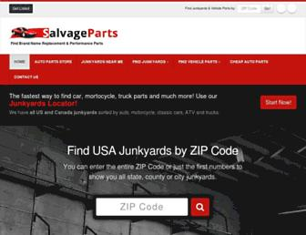 salvage-parts.com screenshot