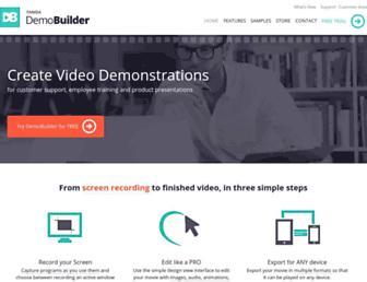 demo-builder.com screenshot