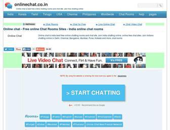 onlinechat.co.in screenshot