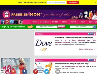 Thumbshot of Freebies4mom.com