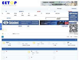bbs.eetop.cn screenshot