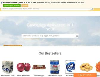 chaldal.com screenshot