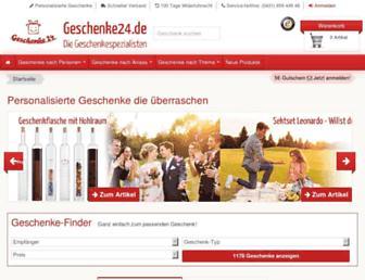 Thumbshot of Geschenkideen.org