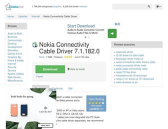 nokia-connectivity-cable-driver.updatestar.com screenshot
