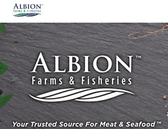 Main page screenshot of albion.bc.ca