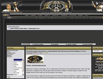 Thumbshot of Saintsreport.com