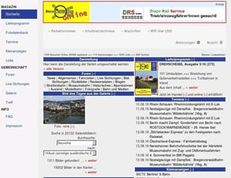 Thumbshot of Drehscheibe-online.de