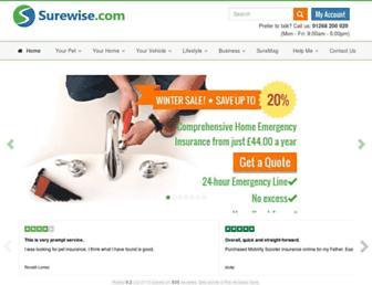 surewise.com screenshot