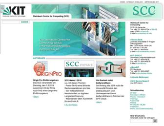 scc.kit.edu screenshot