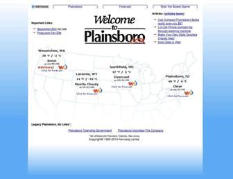plainsboro.com screenshot