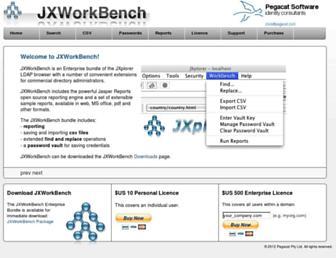 jxworkbench.com screenshot
