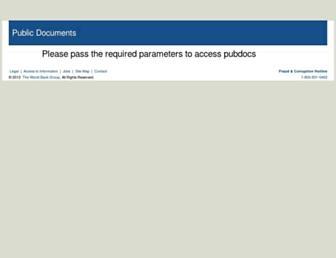 pubdocs.worldbank.org screenshot
