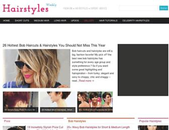 Thumbshot of Hairstylesweekly.com