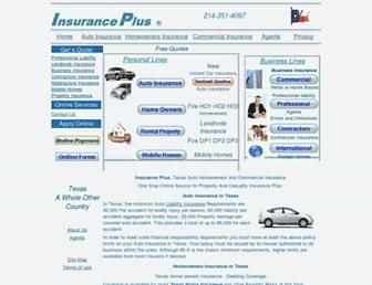 insuranceplus.org screenshot