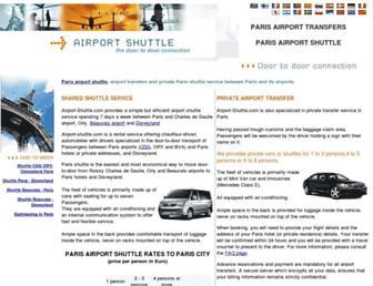 airport-shuttle.com screenshot