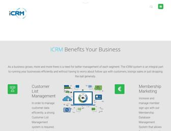 icrm.com.my screenshot