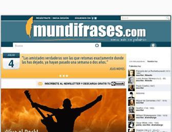 mundifrases.com screenshot