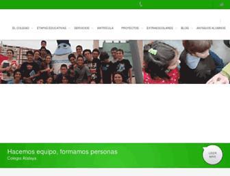 colegioatalaya.com screenshot