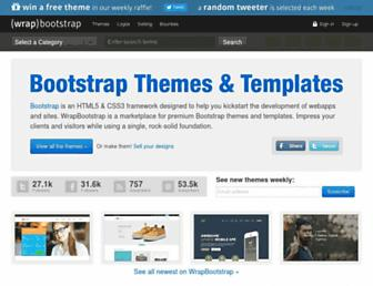 Thumbshot of Wrapbootstrap.com