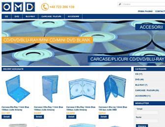 omd-services.ro screenshot