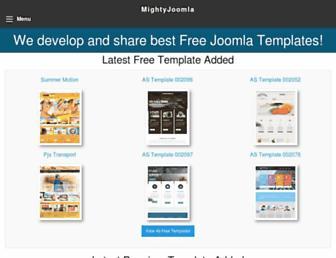 Thumbshot of Mightyjoomla.com