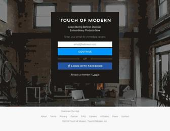 Thumbshot of Touchofmodern.com