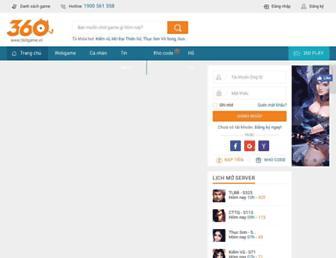 360game.vn screenshot