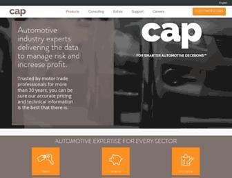 cap.co.uk screenshot