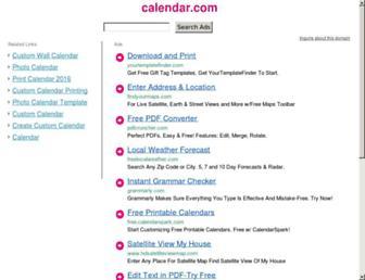 calendar.com screenshot