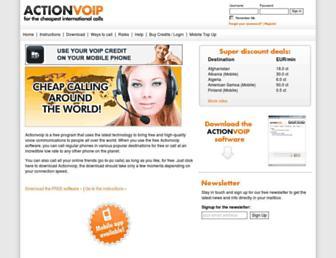 Thumbshot of Actionvoip.com