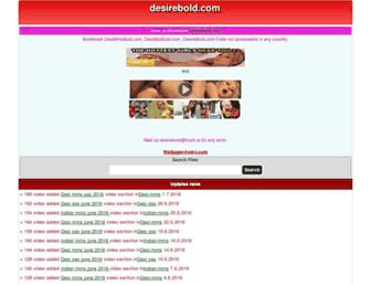 Fullscreen thumbnail of desirebold.com