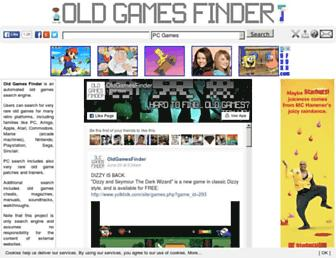 oldgamesfinder.com screenshot