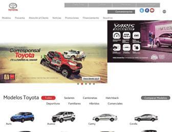 toyotaperu.com.pe screenshot
