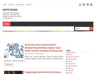 materi4belajar.blogspot.com screenshot