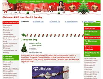 christmas-day.org screenshot